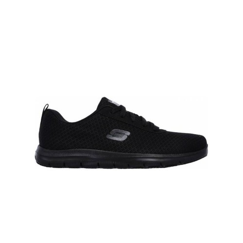 Skechers Men's Professional Shoes FLEX ADVANTAGE BENDON SR Black