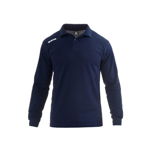 Errea Polo Shirt TEAM COLOURS LS Navy